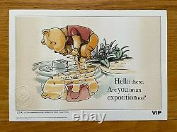 LEGO VIP All 5 Winnie The Pooh Limited Edition Numbered Print Sketches, NEW