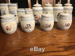 LENOX Winnie The Pooh 32 PIECE Spice Jar Set USED FOR DISPLAY ONLY! LOOK
