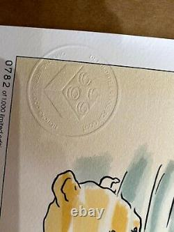 Lego ALL 5 Winnie the Pooh Limited Edition Prints VIP Sketches UNTOUCHED