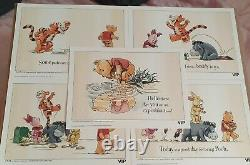 Lego Winnie The Pooh Vip Prints/Sketch Complete Set Of Five