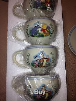 Lenox Collection-New in the Box 9 pc. Winnie the Pooh Tea Service Retired