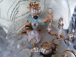 Lenox Disney Winnie The Pooh Pooh's Treasure Hunt Celebration Figurine worn bx