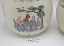 Lenox Disney Winnie The Pooh The Honey Pot Canister Set Of 3 2005