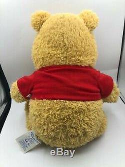 Limited Edition Build A Bear BAB Disney Winnie The Pooh Plush Stuffed Toy Doll