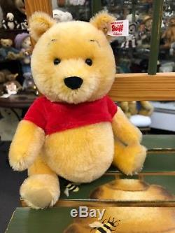 Looking for the new Steiff Winnie The Pooh We can help! EAN 015199, 8-inch size