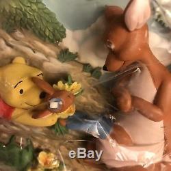 Lot 10 Winnie the Pooh & Friends 3D Wall Plates Bradford Exchange Disney Set