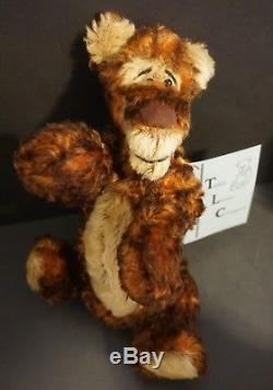 Lot of 5 Ruthie O'Neill Teddy Loves Company Winnie the Pooh Mohair Characters