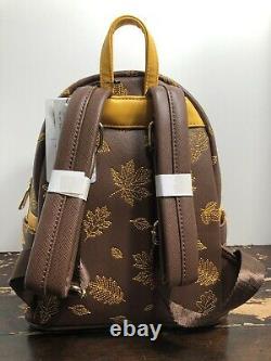 Loungefly Disney Winnie The Pooh Autumn Mini Backpack NWT