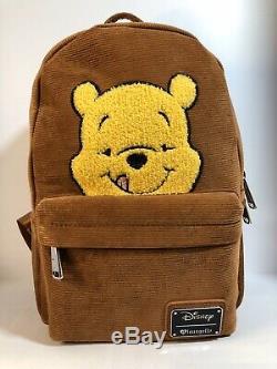 Loungefly Disney Winnie The Pooh Corduroy Mini Backpack RARE NWT