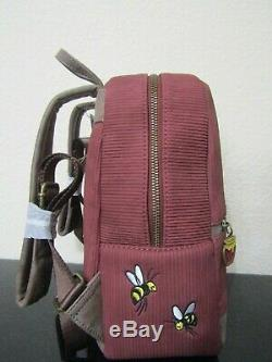 Loungefly Disney Winnie The Pooh Fall Corduroy Mini Backpack New With Tags