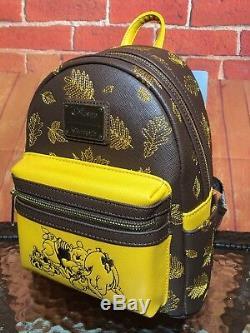 Loungefly Disney Winnie The Pooh Mini Backpack Bag NWT