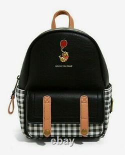 Loungefly Disney Winnie The Pooh Plaid Backpack