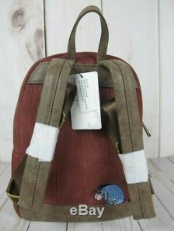 Loungefly Disney Winnie the Pooh Backpack & Cardholder NWT