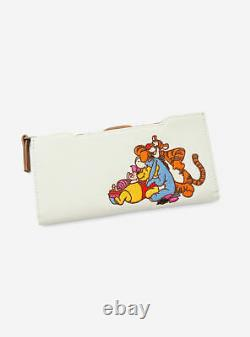 Loungefly Disney Winnie the Pooh Chenille Mini Backpack and Wallet Set Friends