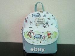 Loungefly Disney Winnie the Pooh Classic Mini Backpack New With Tags