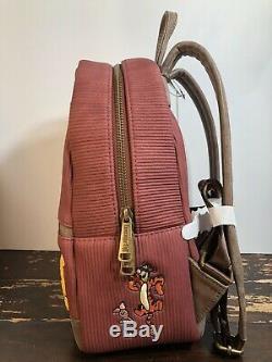 Loungefly Disney Winnie the Pooh Corduroy Mini Backpack NWT
