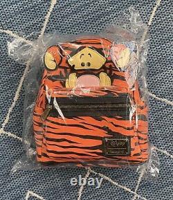 Loungefly Disney Winnie the Pooh Tigger Mini Backpack NWT SEALED PACKAGE