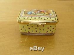 Ltd Ed Halcyon Days Winnie the Pooh Good Friends Stick to You. Enamel Box