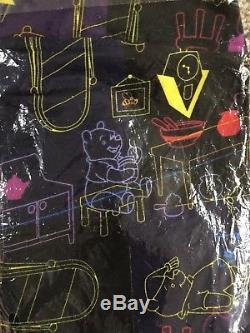 LuLaRoe Disney NWT TC Tall Curvy leggings New Winnie The Pooh Bear Black Hunny