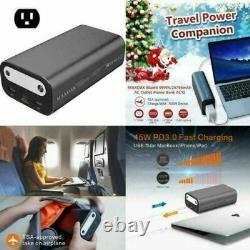 MAXOAK 50000mAh/185Wh 99Wh/26756mAh Portable Laptop Charger USB External Battery