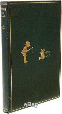 MILNE, A. A. Winnie The Pooh 1926 FIRST EDITION A FINE COPY