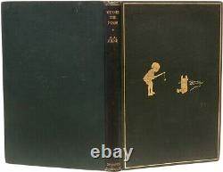 MILNE, A. A. Winnie The Pooh FIRST EDITION 1926 Original Cloth