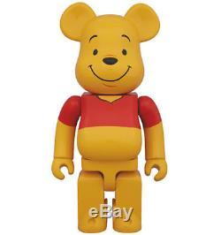 Medicom Be@rbrick 2014 Medicom Toy Winnie the Pooh 400% Bearbrick (NEW Ver.)