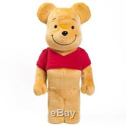 Medicom Winnie the Pooh 1000% Bearbrick Figure yellow