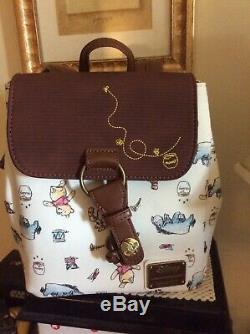 NEW! -DISNEY Loungefly Classic Art Winnie The Pooh Drawstring Mini Backpack