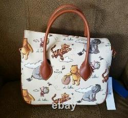 NEW Disney Parks 2020 Dooney & Burke Winnie the Pooh Satchel Bag Crossbody