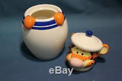 NEW Disney Winnie The Pooh Peek A Boo Cookie Jar Canister Tigger Piglet Eeyore