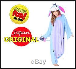 NEW! Kigurumi Winnie the Pooh Eeyore Halloween or Party Costumes Pajamas