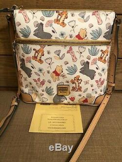 NWOT Disney Dooney & Bourke Winnie the Pooh Crossbody Letter Carrier Bag Purse