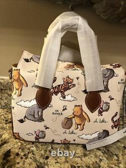 NWT 2020 Disney Parks Dooney & Bourke Winnie The Pooh Crossbody Satchel Bag