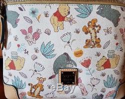 NWT Disney Dooney & Bourke WINNIE THE POOH Letter Cross Body Handbag SHIPS FREE