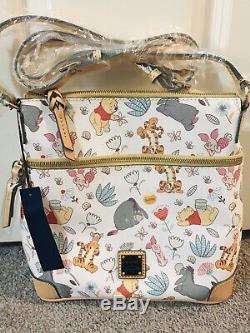 NWT Disney Dooney & Bourke Winnie The Pooh Crossbody Letter Carrier Purse Bag