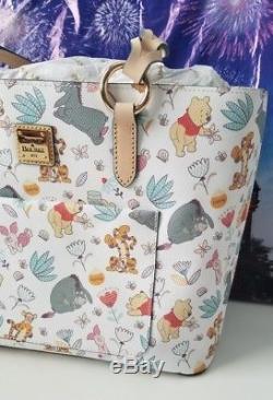 NWT Disney Dooney & Bourke Winnie The Pooh Tote Christopher Robin Eeyore Piglet