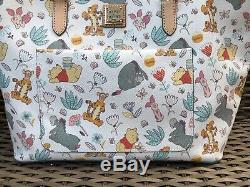 NWT Disney Dooney & Bourke Winnie The Pooh Tote Tigger Eeyore & PALS