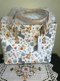 NWT Disney Dooney & Bourke Winnie The Pooh Tote Tigger Eeyore & PALS K