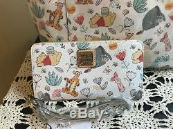 NWT Disney Dooney & Bourke Winnie The Pooh and Pals Tote & Wallet Combo Set