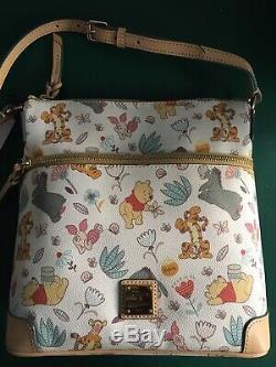 NWT Disney Dooney & Bourke Winnie the Pooh Crossbody Letter Carrier