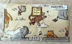 NWT Disney Dooney Classic Winnie The Pooh Wallet Wristlet Piglet Eeyore In Hand