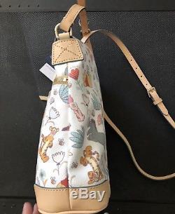 NWT Disney Winnie The Pooh Dooney & Bourke Letter Carrier Crossbody Handbag