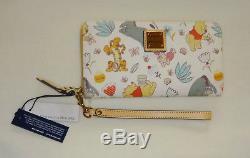 NWT Dooney & Bourke Disney Winnie The Pooh Wallet Wristlet Tigger Eeyore Piglet