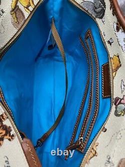 NWT GENUINE Dooney & Bourke CLASSIC WINNIE THE POOH Tote Disney Parks ACTUAL BAG