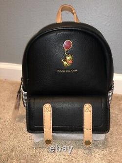 NWT Loungefly Disney Winnie the Pooh Plaid Mini Backpack. Rare