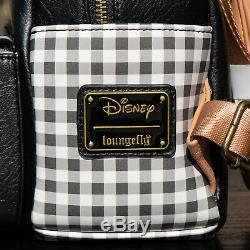 NWT Loungefly Disney Winnie the Pooh Plaid Mini Backpack Set New with Tags