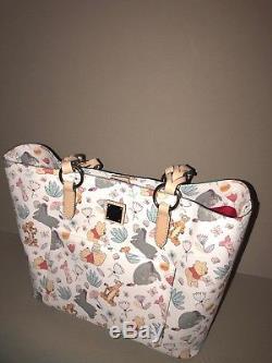 NWT RARE Disney Dooney & Bourke Winnie the Pooh Large Tote Handbag