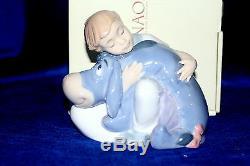 Nao By Lladro #1594 Dreams With Eeyore Brand Nib Disney Winnie The Pooh Save$ Fs