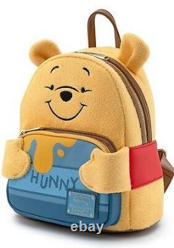 New Loungefly X Disney Winnie the Pooh Hunny (Honey) Mini Backpack